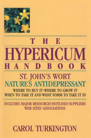 Cover image for the book The Hypericum Handbook: Nature's Antidepressant