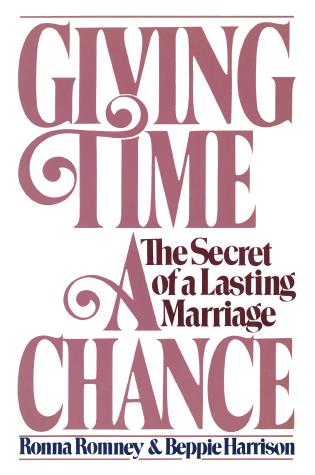 Cover image for the book Giving Time a Chance: The Secret of a Lasting Marriage