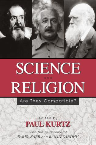 Cover image for the book Science and Religion: Are They Compatible?