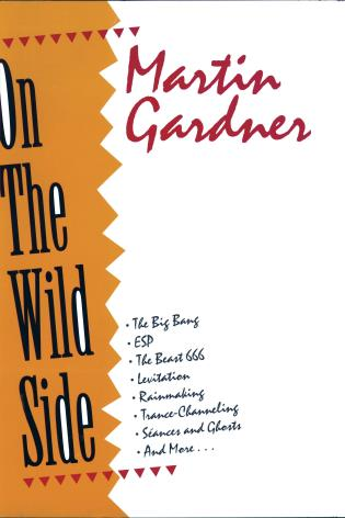 Cover image for the book On the Wild Side