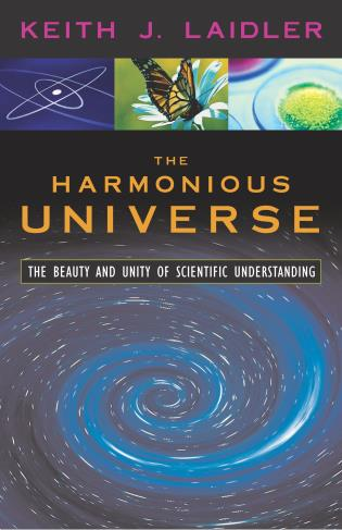 Cover image for the book The Harmonious Universe: The Beauty and Unity of Scientific Understanding