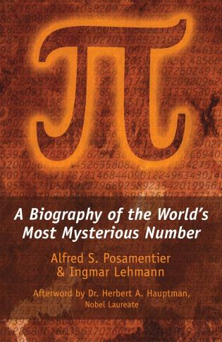 Cover image for the book Pi: A Biography of the World's Most Mysterious Number