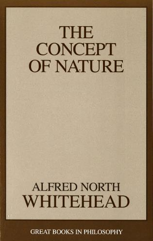 Cover image for the book The Concept of Nature