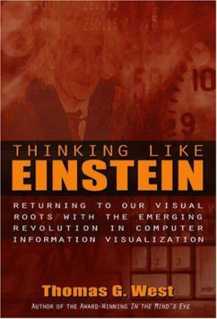 Cover image for the book Thinking Like Einstein