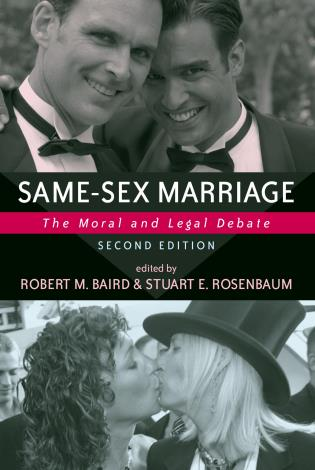 Cover image for the book Same-sex Marriage: The Moral And Legal Debate