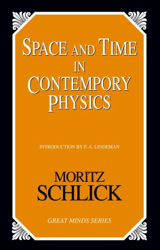Cover image for the book Space and Time in Contemporary Physics: An Introduction to the Theory of Relativity And Gravitation
