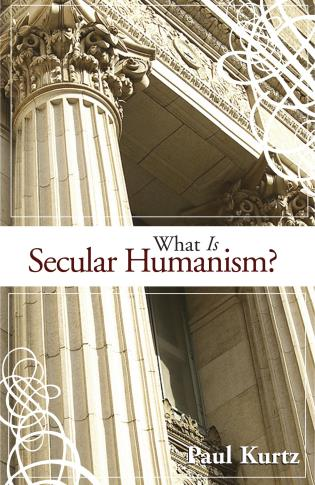 Cover image for the book What Is Secular Humanism?
