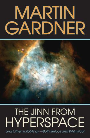 Cover image for the book Jinn from Hyperspace: And Other Scribblings--Both Serious and Whimsical