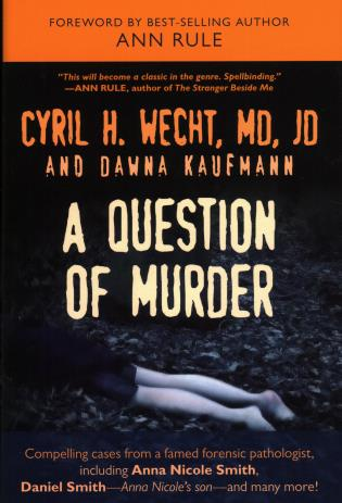 Cover image for the book A Question of Murder