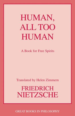 Cover image for the book Human, All Too Human