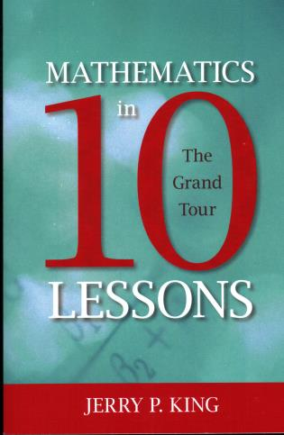 Cover image for the book Mathematics in 10 Lessons: The Grand Tour