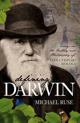 Cover image for the book Defining Darwin: Essays on the History and Philosophy of Evolutionary Biology