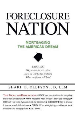 Cover image for the book Foreclosure Nation