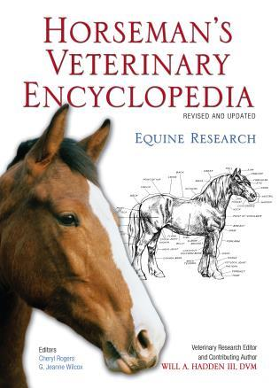 Cover image for the book Horseman's Veterinary Encyclopedia, Revised and Updated