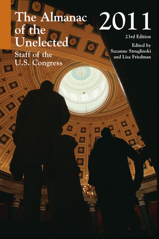 Cover image for the book Insider's Guide to Key Committee Staff of the U.S. Congress 2010, 23rd Edition