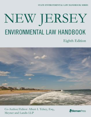 Cover image for the book New Jersey Environmental Law Handbook, Eighth Edition