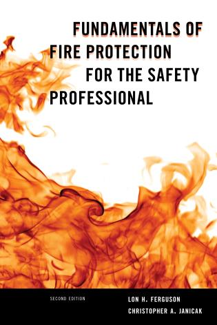 Cover image for the book Fundamentals of Fire Protection for the Safety Professional, Second Edition