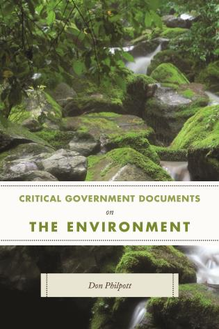 Cover image for the book Critical Government Documents on the Environment