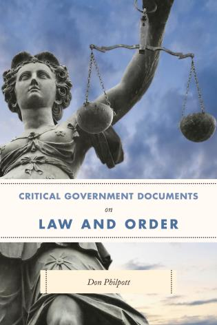Cover image for the book Critical Government Documents on Law and Order
