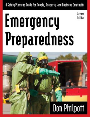 Cover image for the book Emergency Preparedness: A Safety Planning Guide for People, Property and Business Continuity, Second Edition