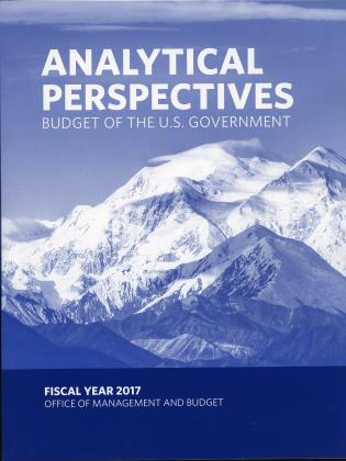 Cover image for the book Budget of the United States: Analytical Perpectives FY 2017