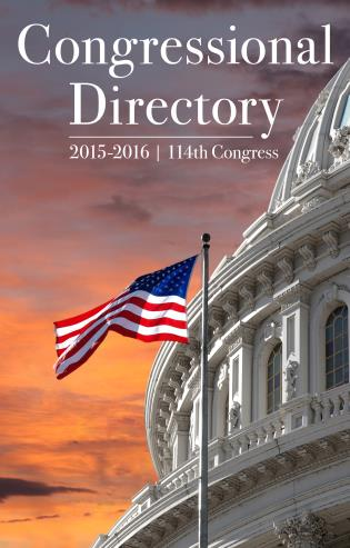 Cover image for the book Congressional Directory 2015-2016 - 114th Congress