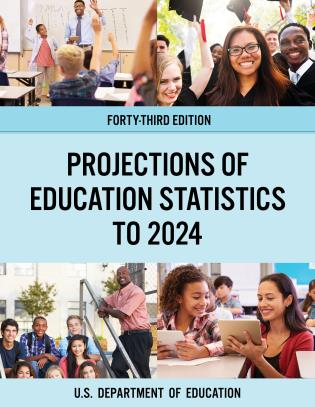Cover image for the book Projections of Education Statistics to 2024