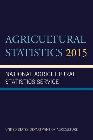 Cover image for the book Agricultural Statistics 2015