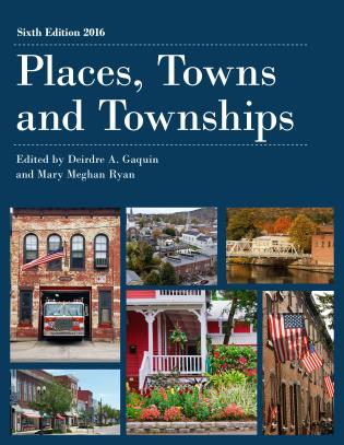 Cover image for the book Places, Towns and Townships 2016, Sixth Edition