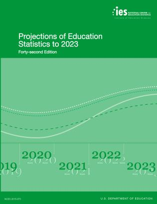 Cover image for the book Projections of Education Statistics to 2023
