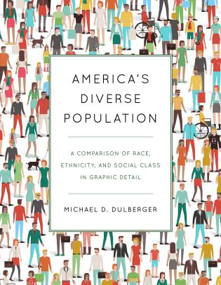 Cover image for the book America's Diverse Population: A Comparison of Race, Ethnicity, and Social Class in Graphic Detail