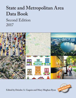 Cover image for the book State and Metropolitan Area Data Book 2017, Second Edition