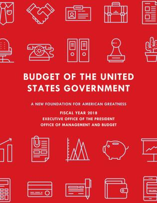Cover image for the book Budget of the United States Government, Fiscal Year 2018: A New Foundation for American Greatness