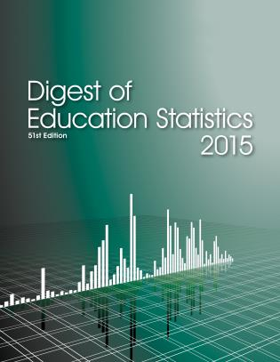 Cover image for the book Digest of Education Statistics 2015