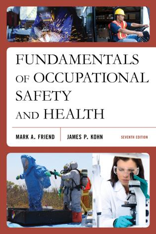 Cover image for the book Fundamentals of Occupational Safety and Health, Seventh Edition