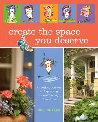 Cover image for the book Create the Space You Deserve: An Artistic Journey To Expressing Yourself Through Your Home, First Edition