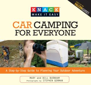 Cover image for the book Knack Car Camping for Everyone: A Step-By-Step Guide To Planning Your Outdoor Adventure