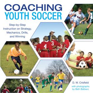 Cover image for the book Knack Coaching Youth Soccer: Step-By-Step Instruction On Strategy, Mechanics, Drills, And Winning