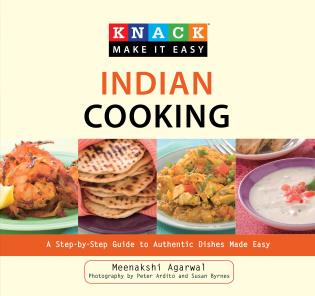 Cover image for the book Knack Indian Cooking: A Step-By-Step Guide To Authentic Dishes Made Easy