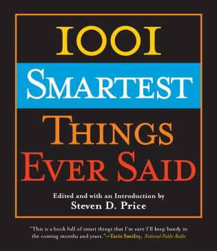 Cover image for the book 1001 Smartest Things Ever Said
