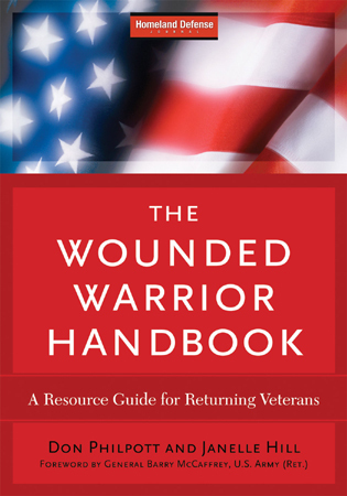 Cover image for the book The Wounded Warrior Handbook: A Resource Guide for Returning Veterans