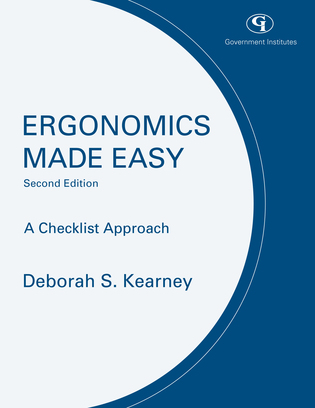 Cover image for the book Ergonomics Made Easy: A Checklist Approach, Second Edition