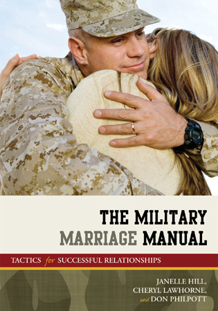 Cover image for the book The Military Marriage Manual: Tactics for Successful Relationships