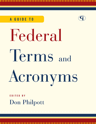 Cover image for the book A Guide to Federal Terms and Acronyms