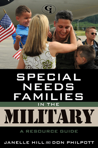 Cover image for the book Special Needs Families in the Military: A Resource Guide