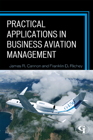 Cover image for the book Practical Applications in Business Aviation Management