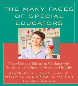 Cover image for the book The Many Faces of Special Educators: Their Unique Talents in Working with Students with Special Needs and in Life