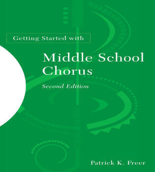 Cover image for the book Getting Started with Middle School Chorus, 2nd Edition