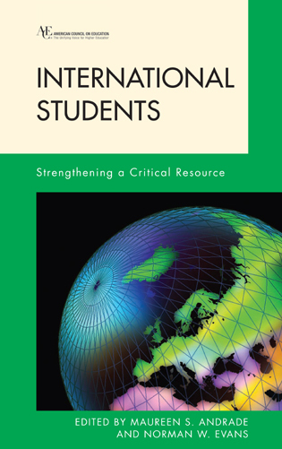 Cover image for the book International Students: Strengthening a Critical Resource