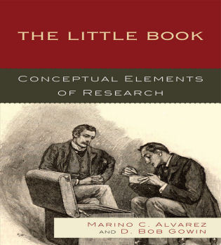 Cover image for the book The Little Book: Conceptual Elements of Research